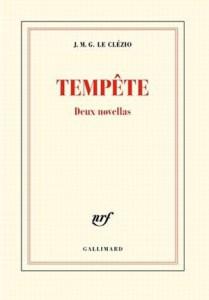 Tempête de J.M.G Le Clézio