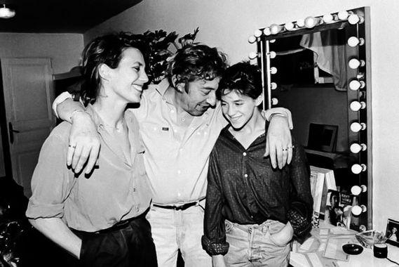 Charlotte Gainsbourg & père