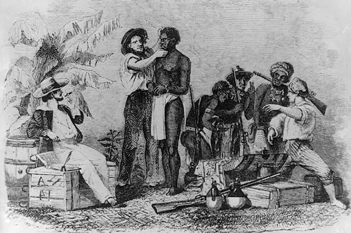 Le calvaire des esclaves qui traversent l'Atlantique