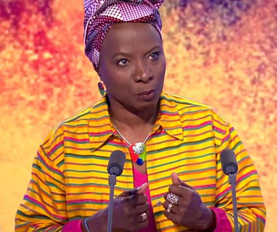 Angélique KIDJO : «L' Afrique en a ras le bol de dépendre des autres»