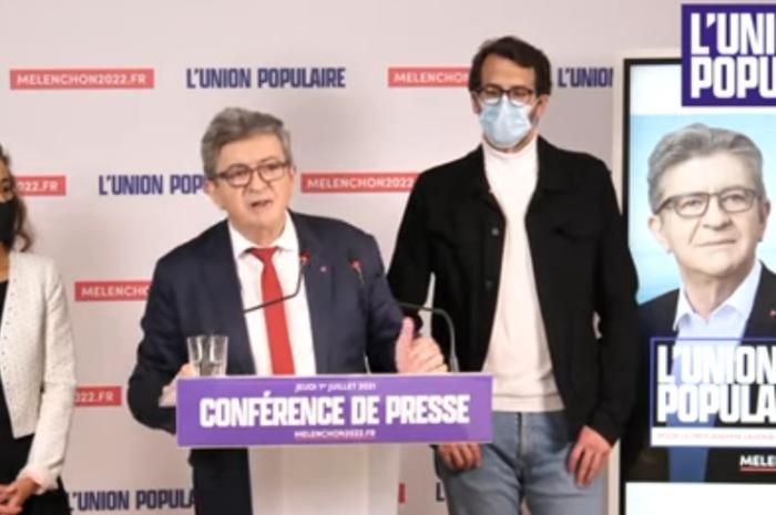 L'Union Populaire pour 2022 – Conférence de presse de Jean-Luc Mélenchon